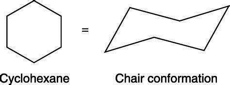 Cyclohexane Chair Conformation by How To Draw The Chair Conformation Of Cyclohexane Dummies