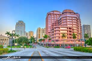 Sunset Gardens Miami Fl by Phillips Point Building Downtown West Palm Beach Florida