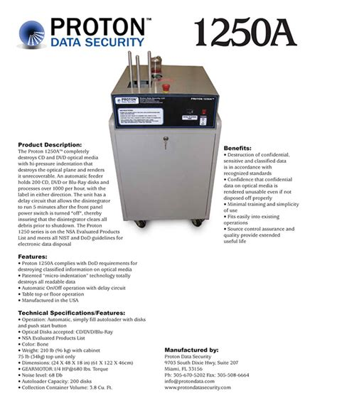 Proton Data Security by Proton Data Security Miami On Behance