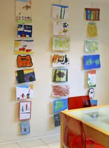 Art Display Systems by Children S Art Gallery Walls Old Amp New Artful Adventures