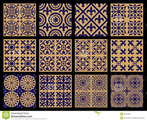 arab traditional pattern middle ages seamless patterns stock image image 22423261