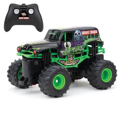 grave digger monster truck specs new bright f f 4x4 monster jam mini grave digger rc car 1