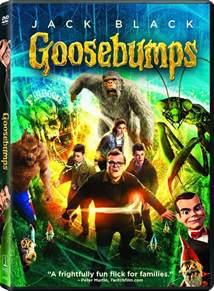 goosebumps dvd release 26 2016
