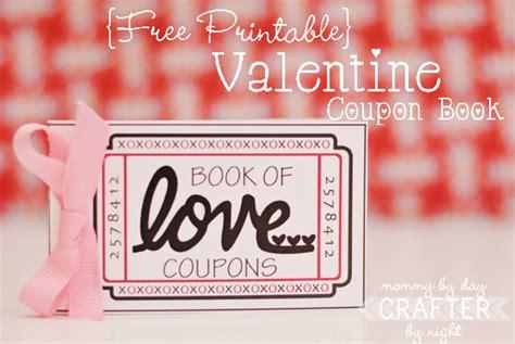 Printable Book Of Love Coupons | printable love coupon book