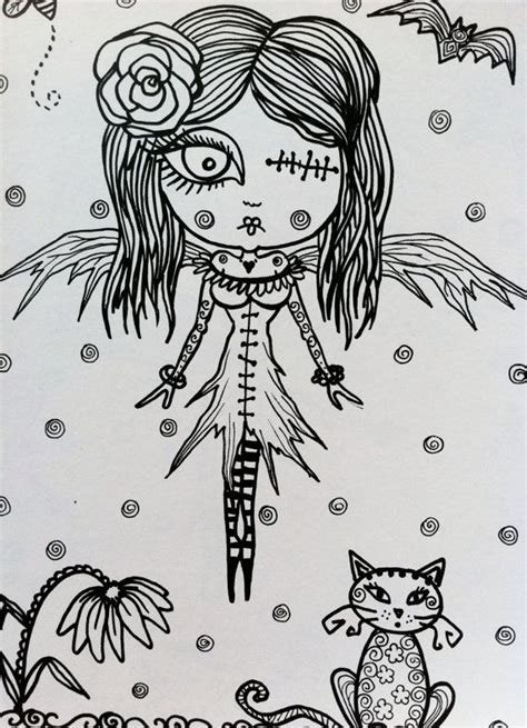 creepy coloring pages adults 279 best coloring pages images on pinterest