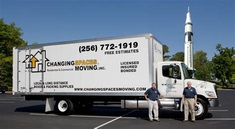 changing spaces huntsville movers changing spaces moving company