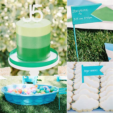 backyard 1st birthday party ideas a backyard bedtime inspired first birthday party it s