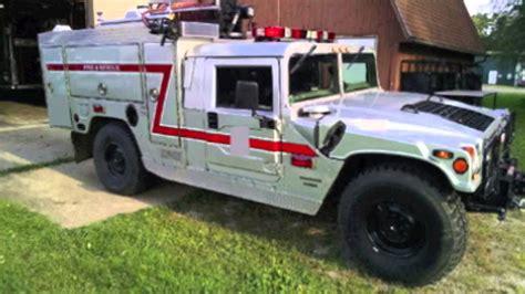 hummer one 1997 e one hummer brush truck 250 15 w0858