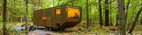 tiny house getaway test drive a mini cabin in rural new york harvard student startup lets you test drive tiny house
