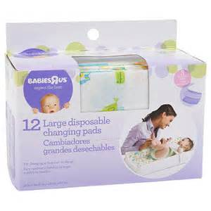 Disposable Changing Table Covers Babie R Us Large Disposable Changing Pads 12 Pack Babies Quot R Quot Us