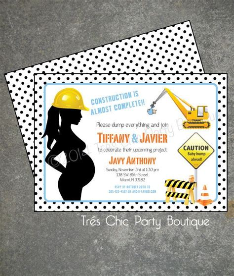 Construction Baby Shower Ideas by Best 25 Construction Baby Showers Ideas On