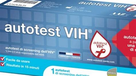 test per l hiv test hiv farmacia l auto test per l hiv arriva in