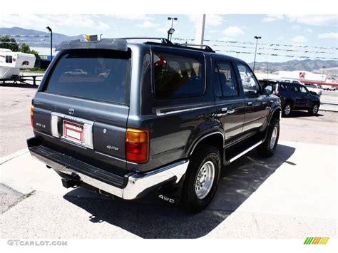 1995 Toyota 4runner Sr5 V6 1995 Gray Metallic Toyota 4runner Sr5 V6 4x4