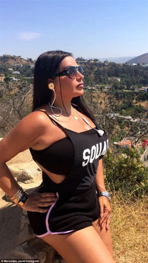 mercedes javid on why shahs of sunset fired lilly mercedes mj javid shows off sexy silhouette after hike
