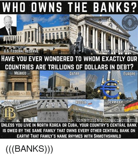 who owns the federal reserve bank who owns the banks onscio bank of us federal
