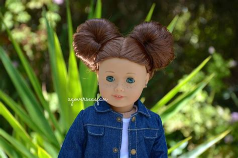 cute hairstyles for kit the american girl doll american girl doll hairstyles saige 2013 youtube
