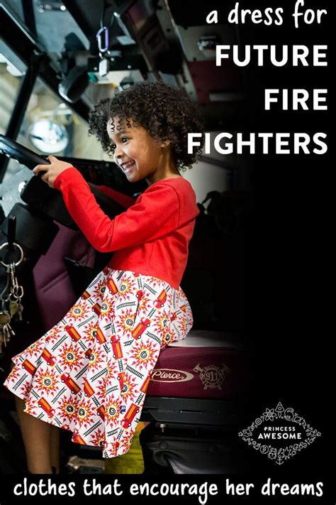 rescue ready fire engine twirly play dress  long