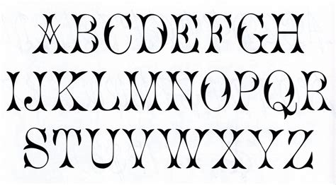 printable fonts for tattoos western black and white clip art one of my favorite