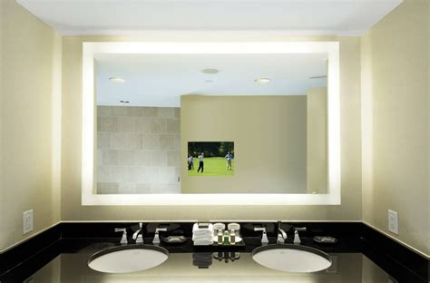 15 best ideas of lighted wall mirrors for bathrooms