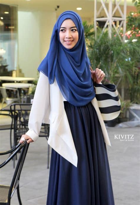 Baju Pesta Fitri Aulia pakaian muslimah stile 2014 baju renang muslimah burkini untuk hijabers tutorial