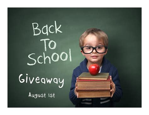 Back To School Clothes Giveaway - back to school giveaway august 1st 2015