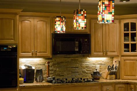 Rustic Kitchen Backsplash Ideas - backsplash rustic quartzite eclectic kitchen boston