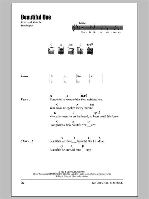 Beautiful One Guitar Chords