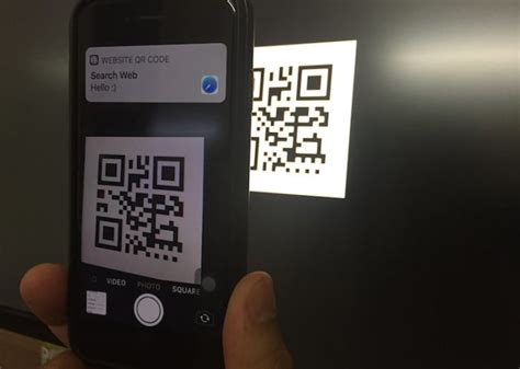 scan qr code  iphone camera app iphone xs max xs xr xsses howtoisolve
