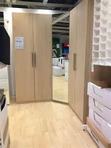 ikea corner wardrobe organize