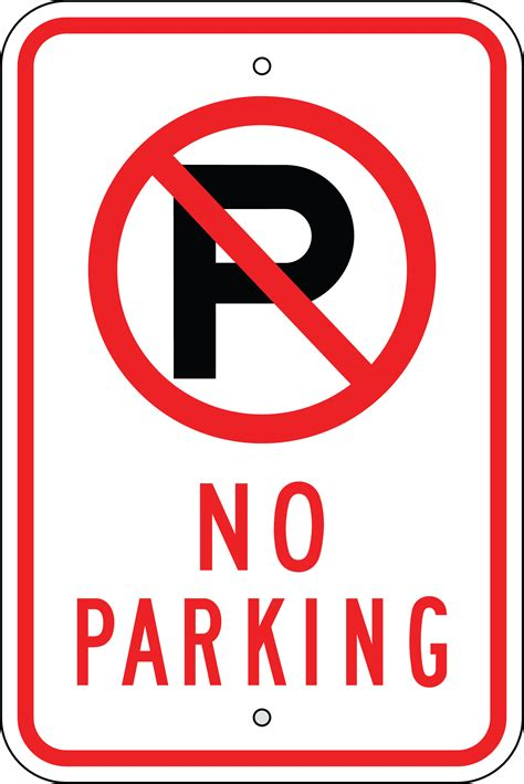 no parking signs template no parking sign clipart clipart suggest