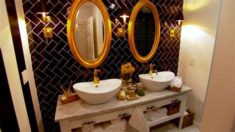 vintage style rooms small bathroom makeovers before and bathroom makeovers from fave hgtv designers hgtv