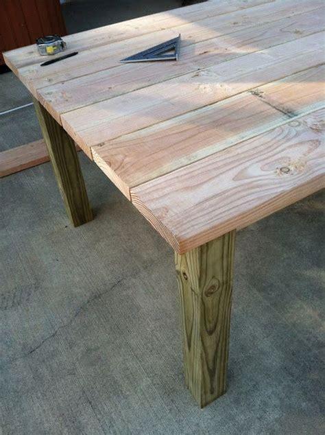 build  outdoor wood farm table home decor diy