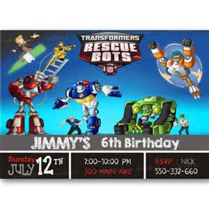 Transformers Birthday Invitations Template by Shop Transformers Invitations On Wanelo