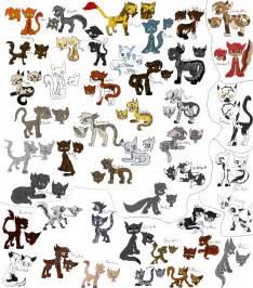 warrior cats pdf warrior cats designs by evildraws on deviantart
