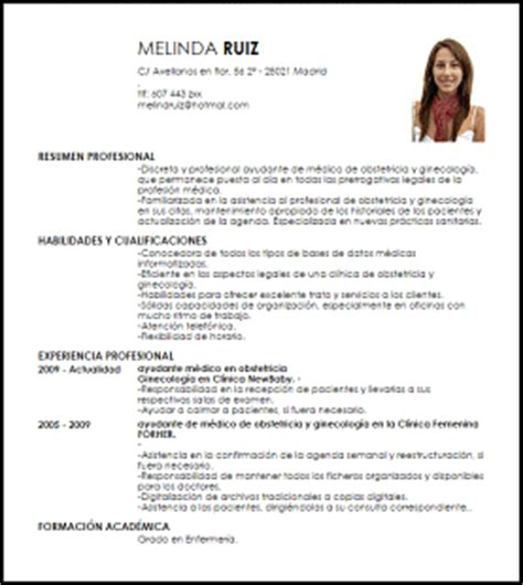 Modelo Curriculum Vitae De Medico Modelo Curriculum Vitae Ayudante De M 233 Dico De Obstetricia Y Ginecolog 237 A Livecareer
