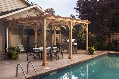 4 ideas for pergola shade cedar pergola 12x20 pergola kits outdoor living today