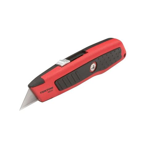 home knives tekton heavy duty retractable utility knife 69103 the home depot