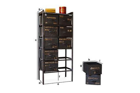cassettiere officina cassettiera da officina con 10 cassetti pib