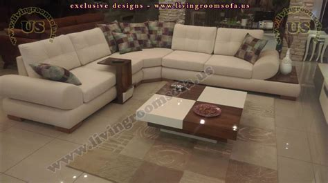Corner Sofa Living Room Ideas by Modern Corner Sofa For Livingroom Design With Side Table