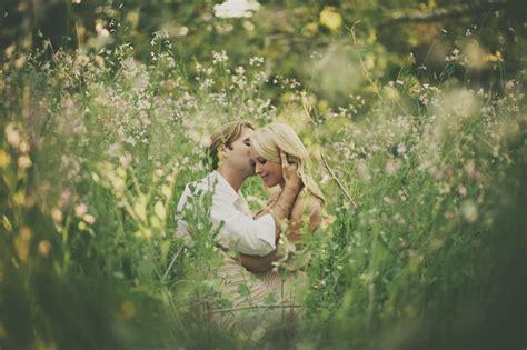 photo fridays  romantic spring garden engagement