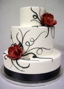 and black wedding cakes images black and white wedding cakes