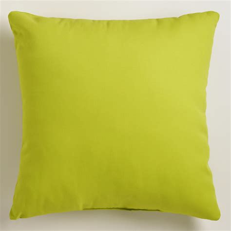 green outdoor throw pillow world market