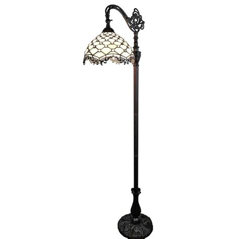 Touch Activated Kitchen Faucets amora lighting 62 in tiffany style jeweled reading floor