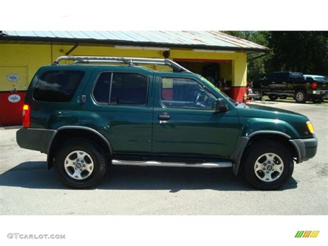 2000 alpine green metallic nissan xterra xe v6 85356509 photo 3 gtcarlot car color