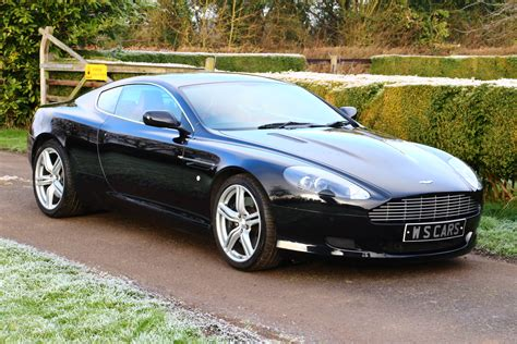 aston martin sedan black 2007 aston martin db9 coupe auto tiptronic with only 26330