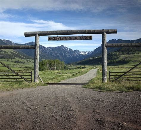 grizzly creek ranch big sky country montana pinterest