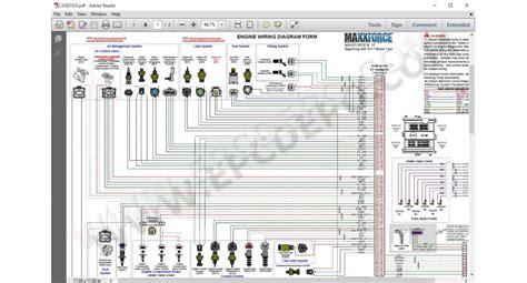 international trucks wiring diagram repair manual order