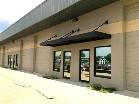 contemporary awnings commercial awnings kansas city tent awning metal