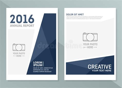 report design templates vector annual report design templates business brochure