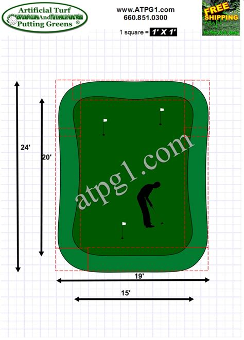 green plans putting green designs